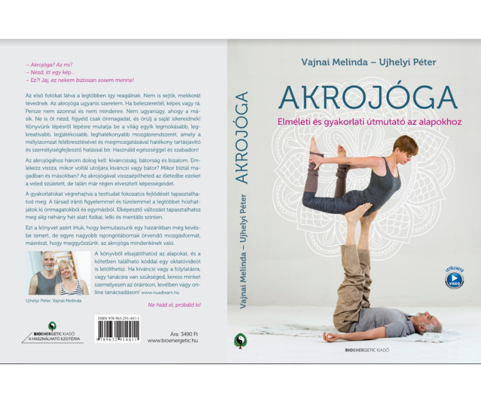 Magyar Acroyoga Naptár 2021 | színes | fali | A4 méret