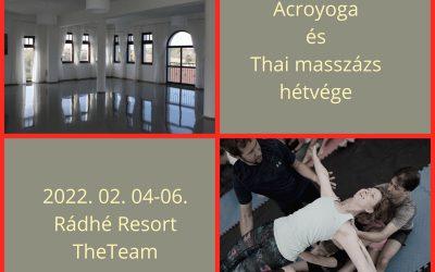 Acroyoga és thai masszázs napok extra téli kiadás